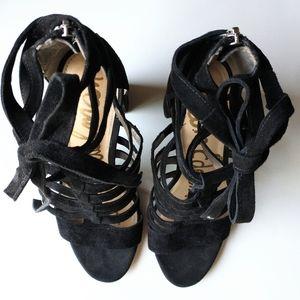Sam Edelman Suede Strappy Gladiator Sandals